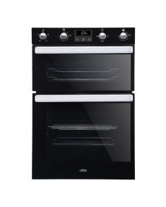 Belling BI902FPBLK Electric Equiflow™ Fan Oven Double Oven Oven - Black - A Energy Rated