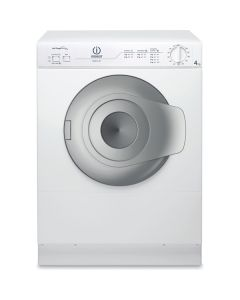 Indesit NIS41V 4kg Vented Compact Tumble Dryer in White -C Rated