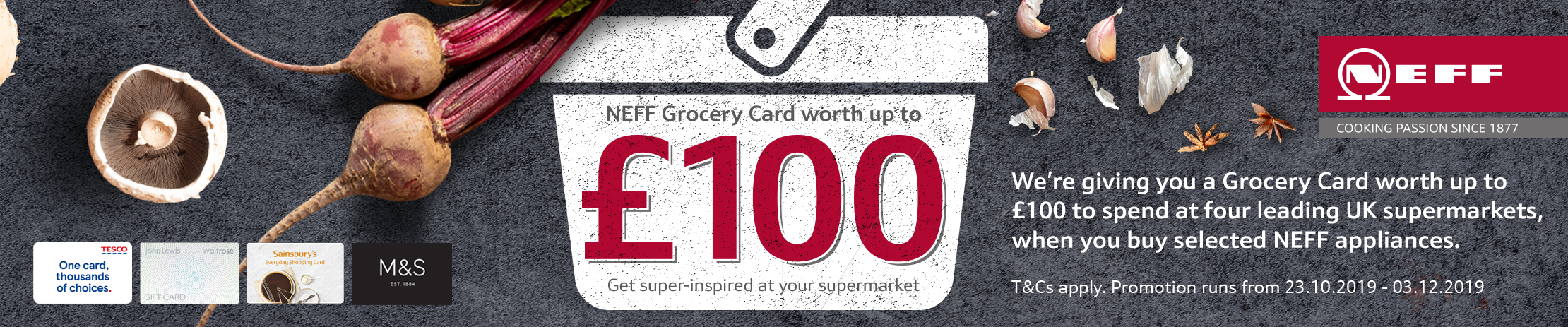 NEFF Winter Grocery Card Promotion
