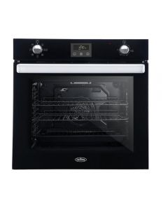 Belling BI602FPCTBLK Electric 73L Gross Capacity Single Oven - Black - A Energy Rated