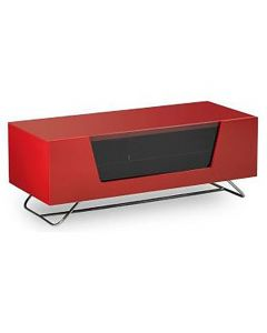 Alphason CRO2-1000CB-RED Chromium Cab 1000 Red TV Stand